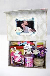 Geschenke Für Die Beste Freundin : diy birthday in a box the cupcake baking kit ~ A.2002-acura-tl-radio.info Haus und Dekorationen