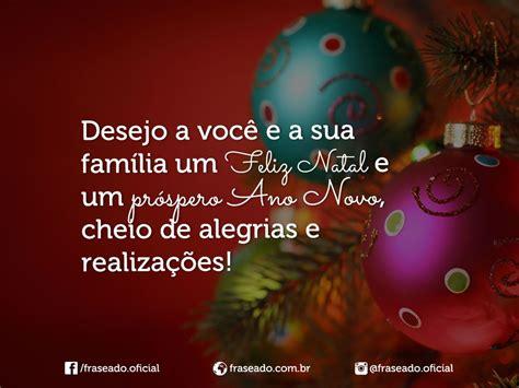frases de feliz natal  prospero ano novo desejo  voce