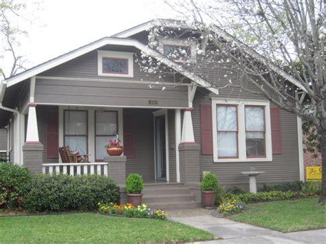 bungalow exterior house paint color combinations craftsman