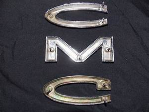 1960 65 gmc truck vintage letter emblems from retromonica With buick chrome letters