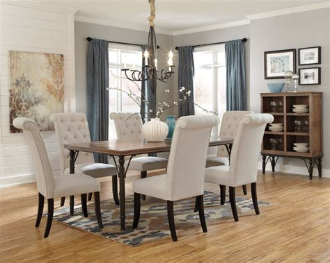 pictures of dining room tables d530 25 ashley furniture tripton rectangular dining room