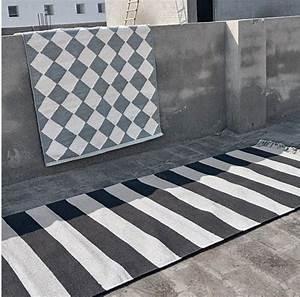 tapis a rayures noir et blanc liv interior With tapis noir et blanc scandinave
