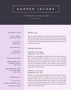 free creative microsoft word resume templates With free creative resume templates microsoft word