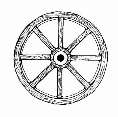 Wagon Wheel Clipart Covered Clip Cliparts Easy