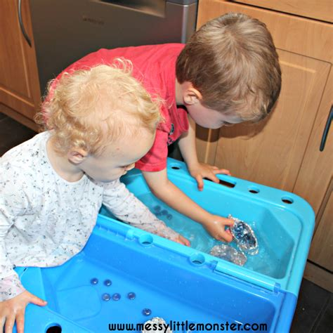 Floating Tin Foil Boat by Floating Foil Boat Experiment Messy Little Monster
