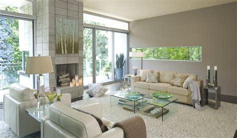 foto de Gray Paint Contemporary living room Benjamin Moore