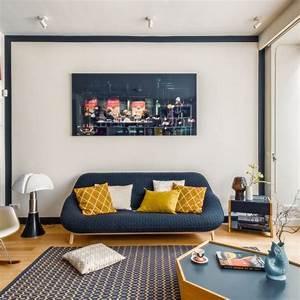 Deco Salon Moderne : d co salon moderne 30 photos d 39 inspiration c t maison ~ Teatrodelosmanantiales.com Idées de Décoration