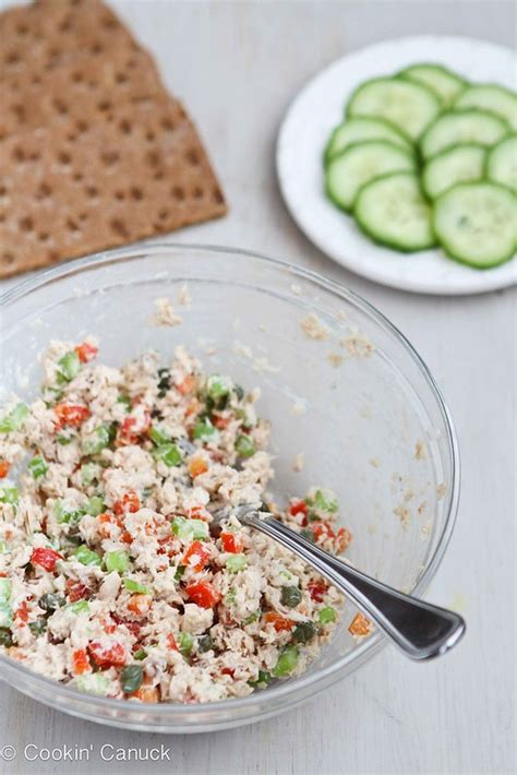 Coho salmon, sockeye salmon, king salmon, etc. Low-Fat Salmon Salad Sandwich Recipe with Capers