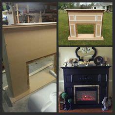 building  custom electric fireplace surround stuff