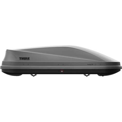 coffre de toit sans barre coffre de toit thule touring 200 titan aeroskin feu vert