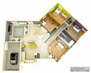 Review Plan De Maison 3d Vectorsecurity Me Moderne 3d