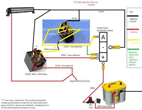 Led Bar Wiring Diagram Volovets Info