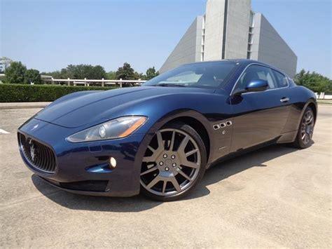 Maserati Granturismo For Sale In Texas