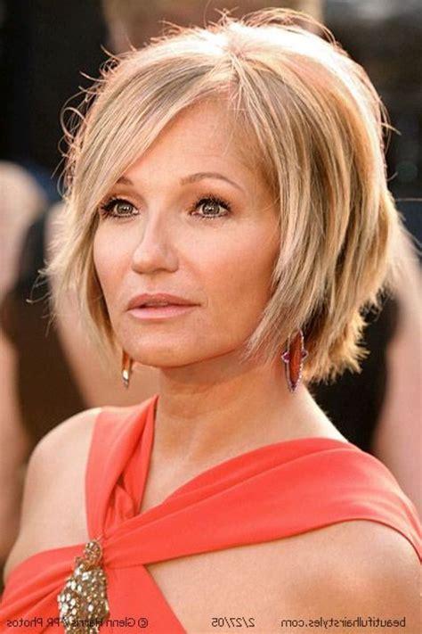 perfect layered bob hairstyle  women   short