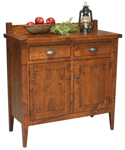 Amish Sideboard by Amish Jacoby 2 Door Sideboard From Dutchcrafters