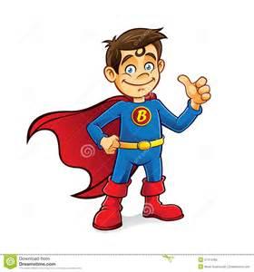 Boy Superhero Clip Art
