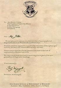 Hogwarts Acceptance letter from Harry Potter We Heart It harry potter, hogwarts, and Letter