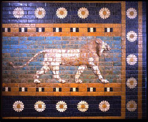 Ancient Replicas The Striding Lion Of Babylon