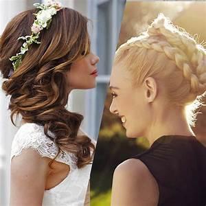 Coiffure Femme Pour Mariage : coiffures de mariage id es belles coiffures de mari e album photo aufeminin ~ Dode.kayakingforconservation.com Idées de Décoration