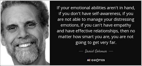daniel goleman quote   emotional abilities arent