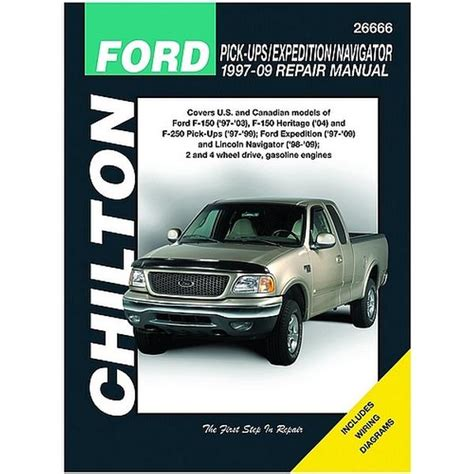 car repair manuals online pdf 2003 ford expedition lane departure warning 1999 2003 ford pick ups expedition chilton manual northern auto parts
