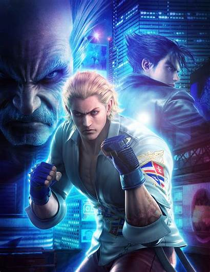 Steve Fox Tekken Jin Heihachi Kazama Mishima