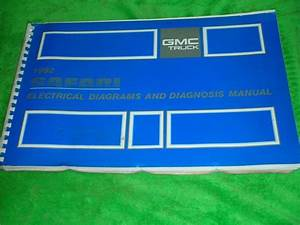 1992 Gmc Safari Van Electrical Diagrams Service Manual