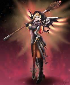Mercy Witch by MadsMadnessRage on DeviantArt