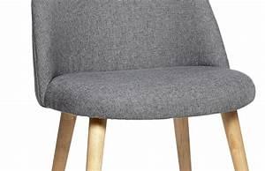 Housse Chaise Scandinave : housse de chaises thickbox chaise scandinave en tissu gris ~ Teatrodelosmanantiales.com Idées de Décoration