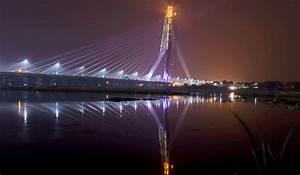 Delhi's Signature Bridge inaugurated amid ruckus ...
