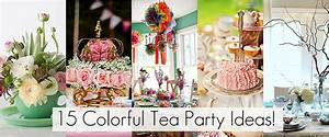 15 tea party ideas @Babble | DIY Party Ideas | Pinterest ...