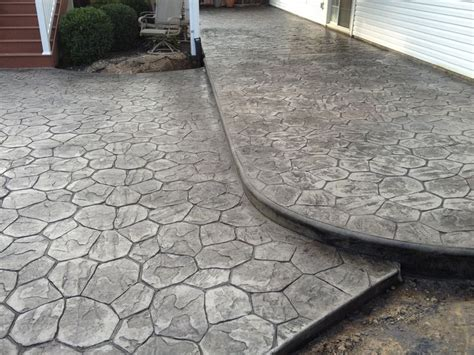 sted concrete patio tiered led rope lighting to