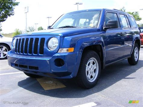 patriot jeep blue 2009 deep water blue pearl jeep patriot sport 11891965