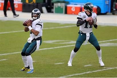 Eagles Hurts Jalen Pederson Doug Wentz Carson