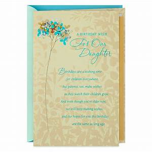 wishes for our birthday card greeting cards
