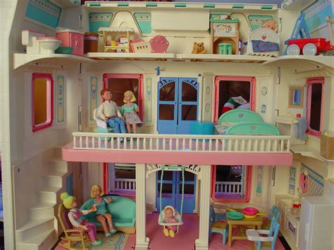The Evergreen Fisher Price Dollhouse
