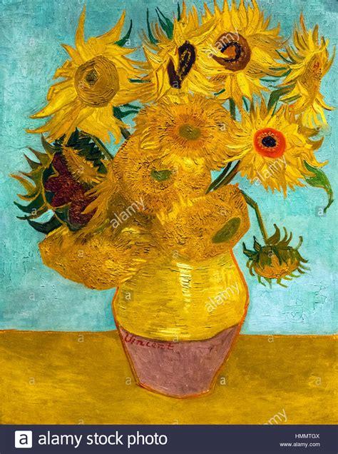Van Gogh Sunflowers Painting Stock Photos Van Gogh