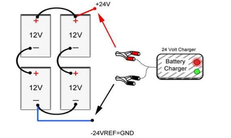 On 24 Volt Battery System Wiring Diagram by How To Install A Third Battery To A Two Battery Boat System