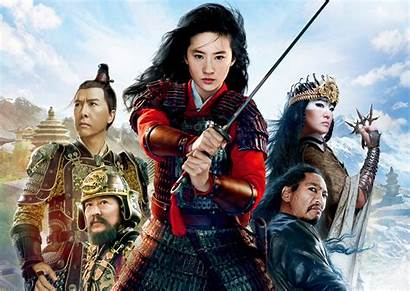 Mulan Disney Wallpapers Background Movies 4k Hua