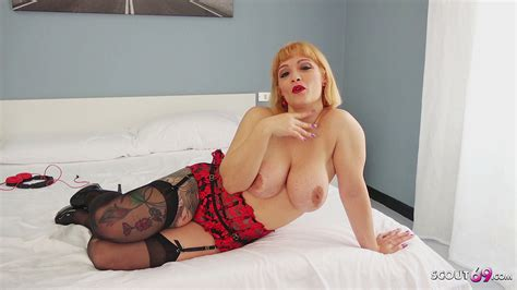 German Scout Big Tits Mature Mary Talk To Fuck At Street