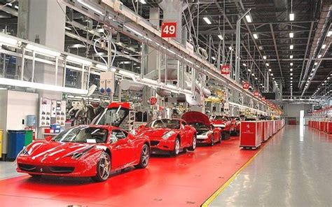 ferrari factory the ferrari factory in maranello