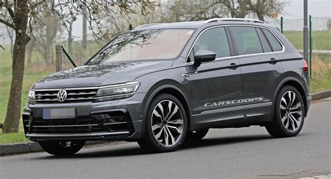 vw tiguan zubehör katalog vw s tiguan r is coming but with what engine carscoops