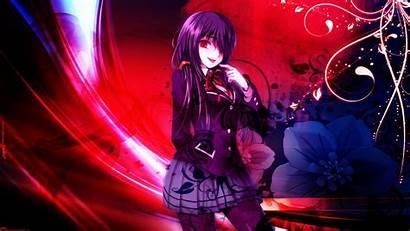 Kurumi Tokisaki Date Deviantart Anime Desktop Pantalla