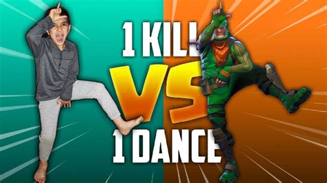 kill  fortnite dance  real life challenge