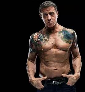 Sylvester-Stallone.. How his body shaped up for The ...