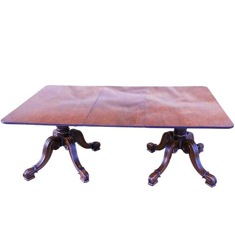 antique tables for antique late regency mahogany pillar dining table for 7487