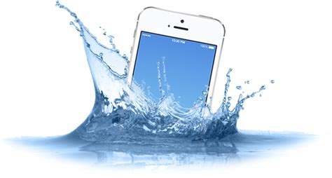 fixing a phone dropped in water is my phone waterproof new york computer help