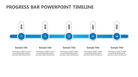 progress bar powerpoint timeline pslides