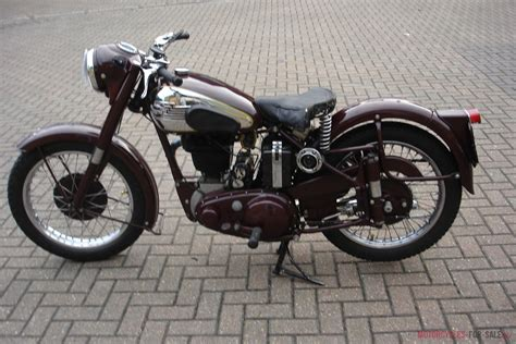 1953 Bsa B31 Plunger Classic British Motorcycle With