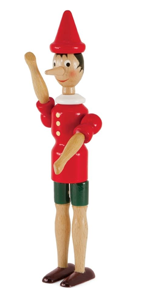 wood dinner table wooden pinocchio doll from italy